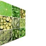 Collage del alimento ilustración del vector