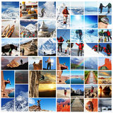 Collage del alza imágenes de archivo libres de regalías