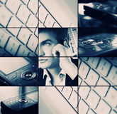 Collage del asunto Fotografía de archivo libre de regalías