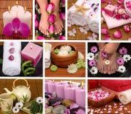 Collage del balneario Foto de archivo libre de regalías