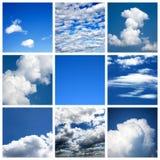 Collage del cielo Fotografia Stock Libera da Diritti