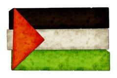 Collage del indicador de Palestina Imágenes de archivo libres de regalías