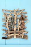 Collage del legname galleggiante Immagine Stock Libera da Diritti