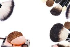Collage del maquillaje Imagen de archivo libre de regalías