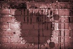 Collage del mattone Immagini Stock