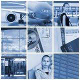 Collage del recorrido fotografía de archivo libre de regalías