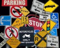 Collage del segno di via Fotografia Stock Libera da Diritti