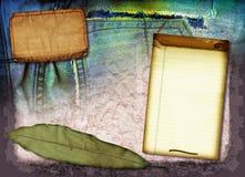 Collage dell'annata Fotografie Stock Libere da Diritti