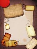 Collage dell'annata fotografia stock