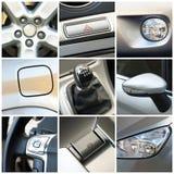 Collage dell'automobile Fotografia Stock Libera da Diritti