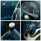 Collage dell'automobile Immagine Stock Libera da Diritti