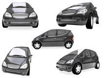 Collage dell'automobile isolata Fotografia Stock Libera da Diritti