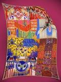 Collage dell'nativo americano Fotografia Stock