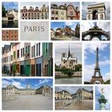 Collage della Francia Fotografie Stock Libere da Diritti