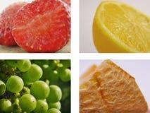 Collage della frutta Immagini Stock
