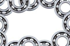 Collage della pagina da cuscinetto a sfera d'acciaio Fotografia Stock