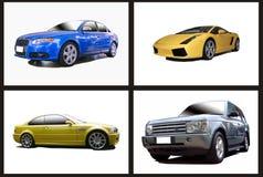 Collage delle automobili Fotografie Stock Libere da Diritti