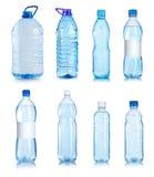 Collage delle bottiglie di acqua Fotografia Stock Libera da Diritti