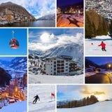 Collage delle immagini dell'Austria Immagine Stock