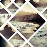 Collage delle immagini di Rio de Janeiro Brazil - fondo m. di viaggio Fotografia Stock