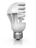 Collage delle lampade Immagini Stock