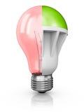 Collage delle lampade Fotografie Stock Libere da Diritti