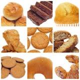 Collage delle pasticcerie Fotografia Stock