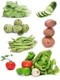 Collage delle verdure Fotografia Stock Libera da Diritti