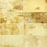 Collage der Weinlesepapiere. Lizenzfreies Stockfoto