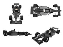 Collage des getrennten Autos Lizenzfreies Stockbild