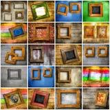 Collage des Weinleserahmens Lizenzfreies Stockfoto