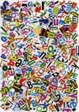 Collage di ABC illustrazione di stock