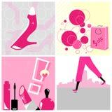 Collage di acquisto illustrazione vettoriale