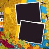 Collage di autunno Immagine Stock Libera da Diritti
