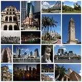 Collage di Brisbane Fotografia Stock