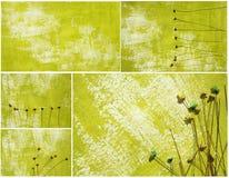 Collage di carta verniciato della priorità bassa royalty illustrazione gratis
