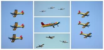 Collage di formazione Fotografie Stock Libere da Diritti