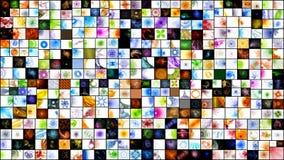 Collage di frattalo Fotografia Stock