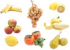 Collage di frutta. fotografia stock libera da diritti