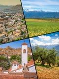 Collage di Granada, Spagna le mie foto Immagini Stock