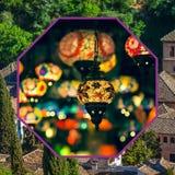 Collage di Granada, Spagna le mie foto Fotografie Stock Libere da Diritti