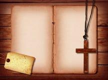 Collage di legno Fotografie Stock