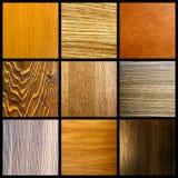 Collage di legno Fotografia Stock