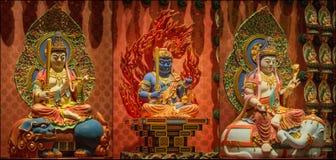 Collage di Lord Buddha dal tempio della reliquia del dente Immagini Stock Libere da Diritti