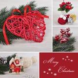 Collage di Natale. Fotografie Stock Libere da Diritti