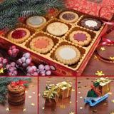 Collage di Natale. Immagine Stock