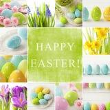 Collage di Pasqua immagini stock