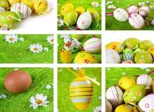 Collage di Pasqua immagine stock