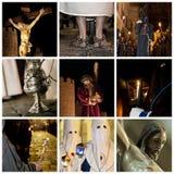 Collage di settimana di Pasqua Immagini Stock Libere da Diritti