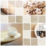 Collage di tranquillità Fotografia Stock